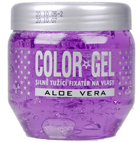 Color gél na vlasy s aloe vera 400ml