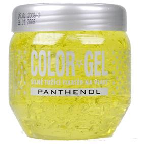 Color gél na vlasy s panthenolom 400ml