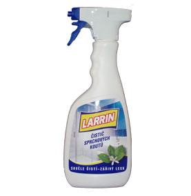 Larrin čistič sprchových kútov s rozprašovačom 500 ml